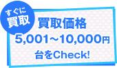 買取価格¥10,000以上台をCheck